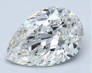 Pear Shape Diamond L/W Ratio of 1.47