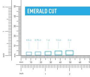 Emerald Cut Size