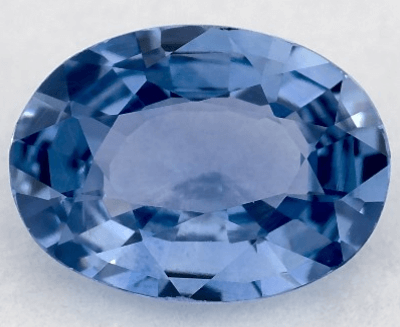 0.77ct Oval Natural Blue Sapphire