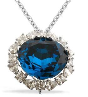 Hope Diamond Necklace
