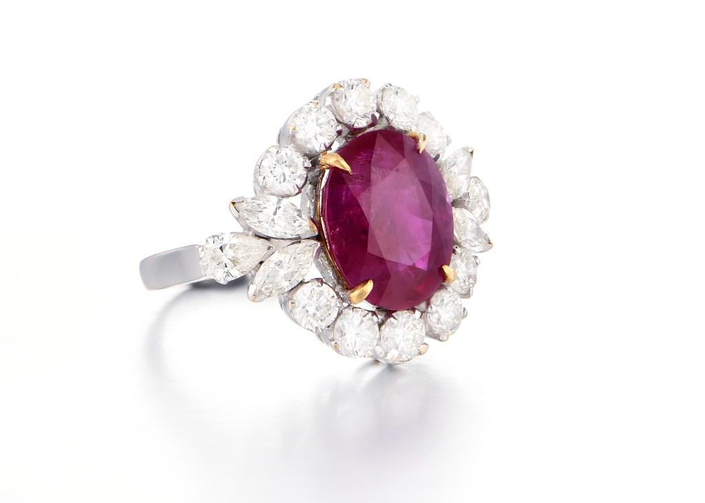 Burmy Ruby Ring at Kanjimull