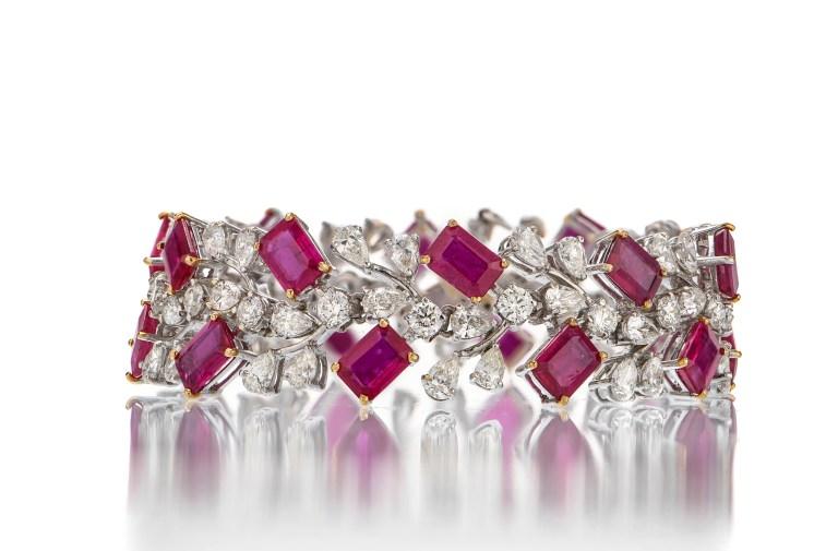 Burma Ruby Bracelet