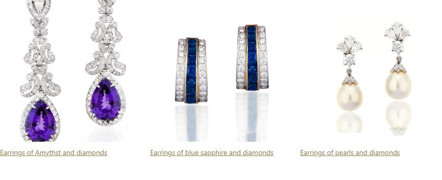 kanjimull diamond earring